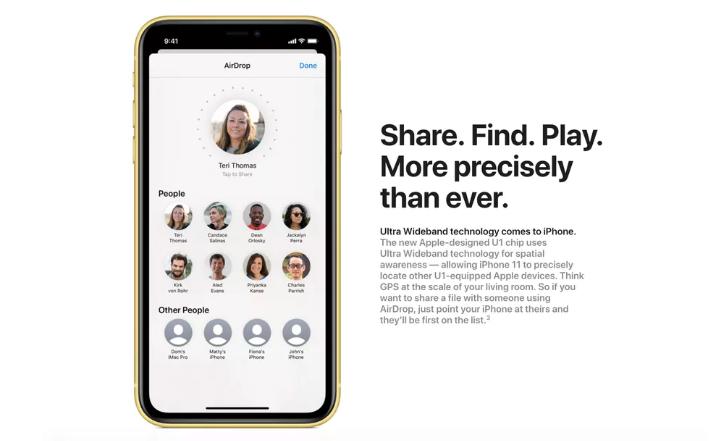 苹果为iPhone 11加入的秘密武器:U1芯片
