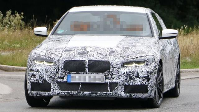 全新一代宝马4系轿跑谍照曝光,有望搭3.0T六缸发动机?