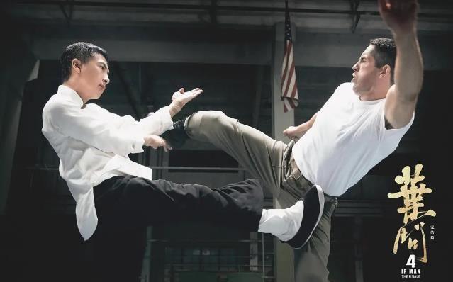 《叶问4》票房大卖,除了甄子丹功夫很赞,配角的表现也很给力