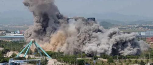 【苏州推荐电影培训】_炸楼断联,朝鲜对敌计划曝光:启动一号战斗体系,要去韩国发传单?