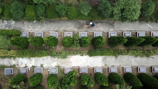 """一座烈士陵园,和两位88岁""""守护者"""""""