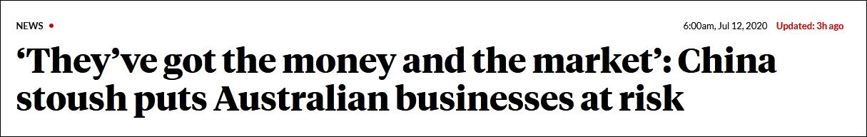 """【又名鹤山站长网】_澳商界学界人士呼吁搞好对华关系 否则""""我们一代活得不如一代"""""""