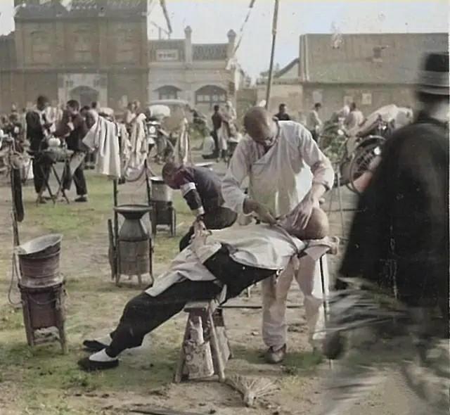 老照片:民国时期河南新乡风土人情