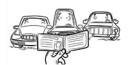 开汽车的简笔画大全