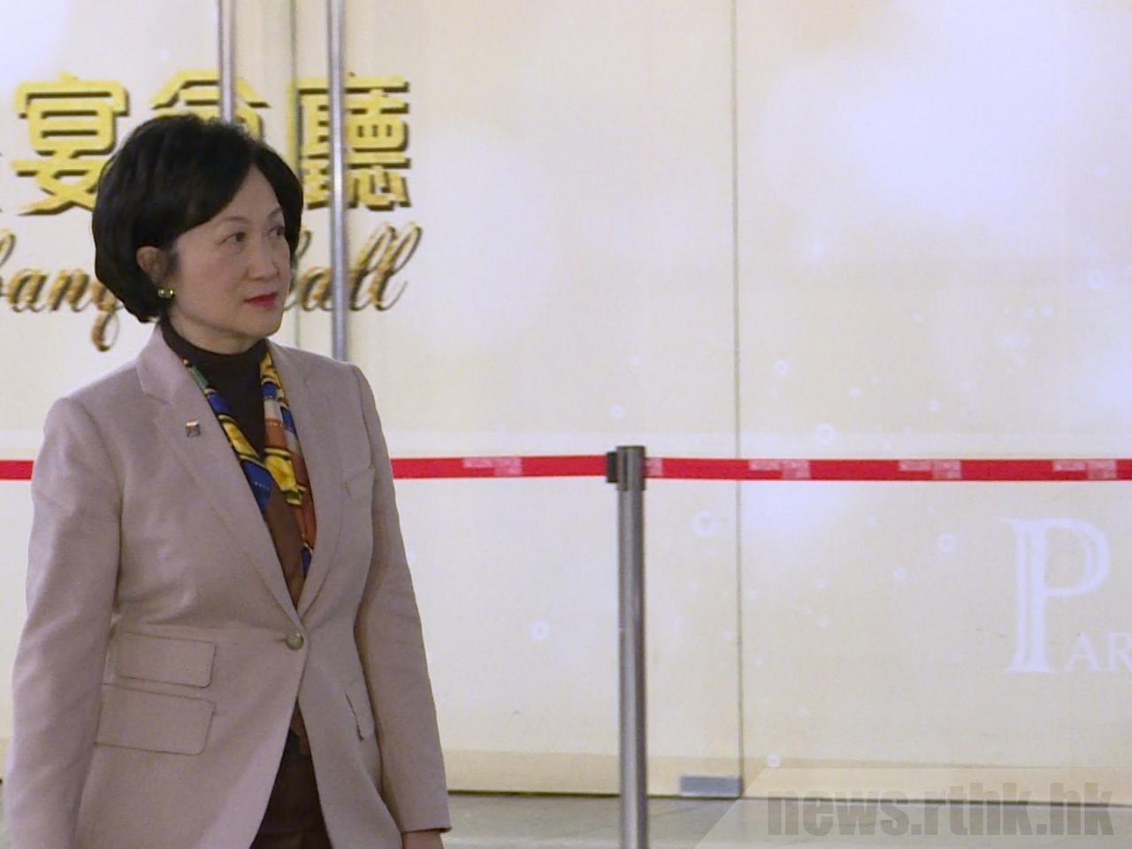 叶刘淑仪(图源:香港电台网站)
