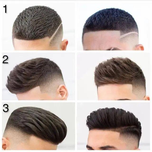 发型丨男生短发发型top5:凤梨头,飞机头,短刘海,短寸头,你喜欢哪个图片