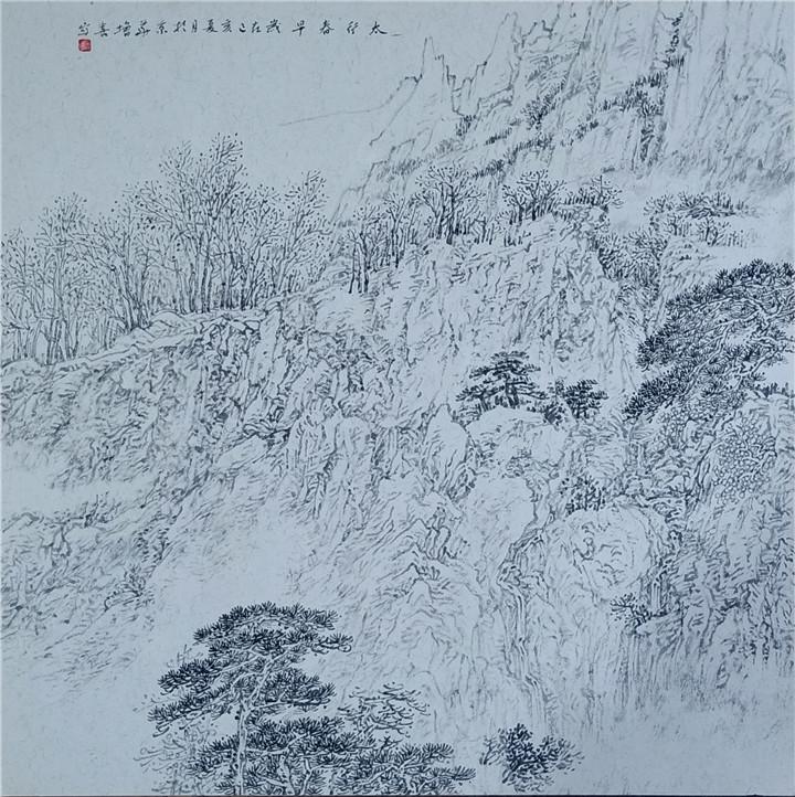 当代著名画家李增喜作品欣赏图片