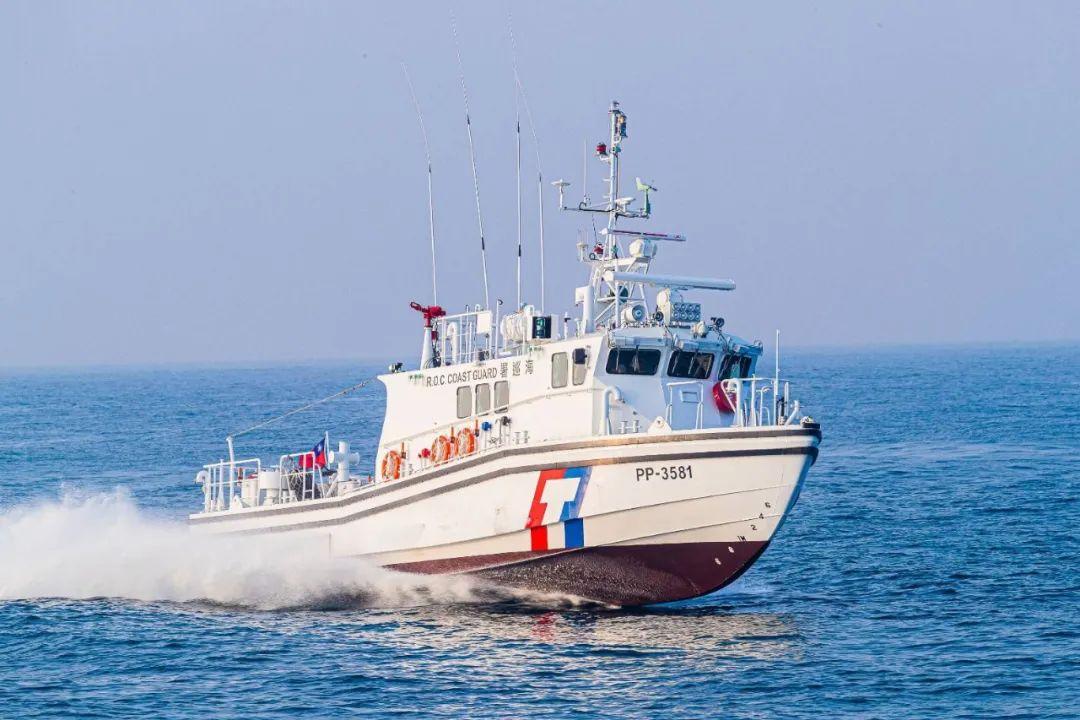 台湾新建造的600吨级巡防舰