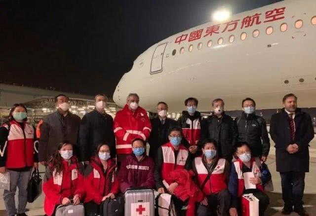 多国各种形式感谢中国雪中送炭