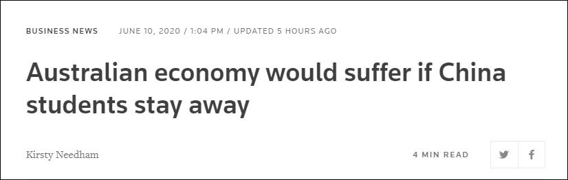【2019香蕉在线观看直播优化学习】_澳大利亚贸易部长承认:中国留学生不来,经济会遭受打击