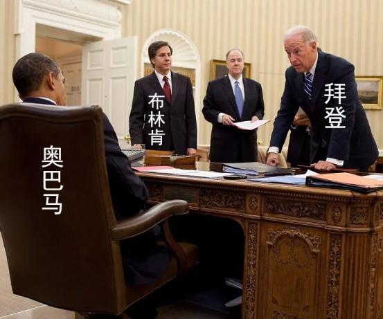 ▲2010年11月摄于奥巴马总统办公室
