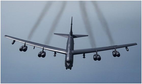 美國空軍B-52戰略轟炸機