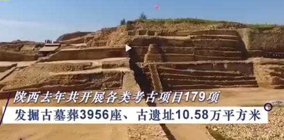 2020年陜西共發掘古墓葬3956座,網友:不愧是你!