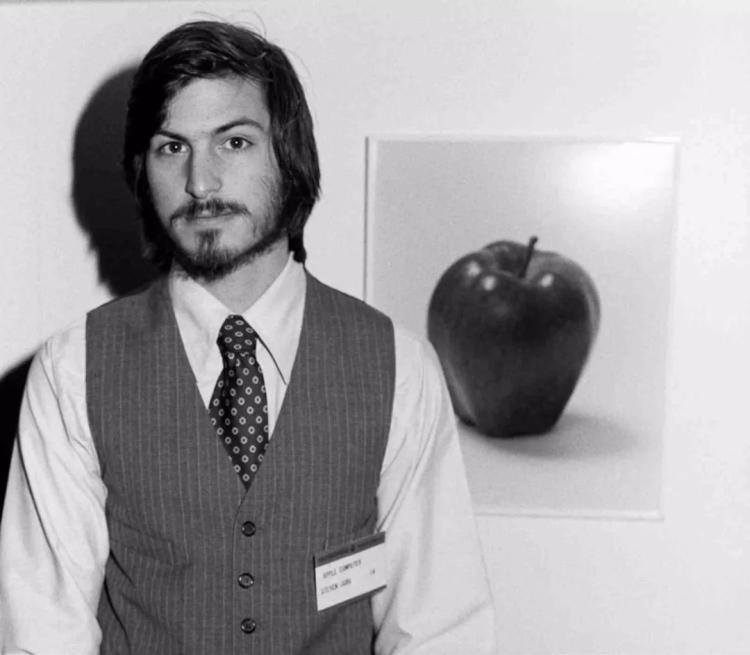 1977年的史蒂夫·乔布斯
