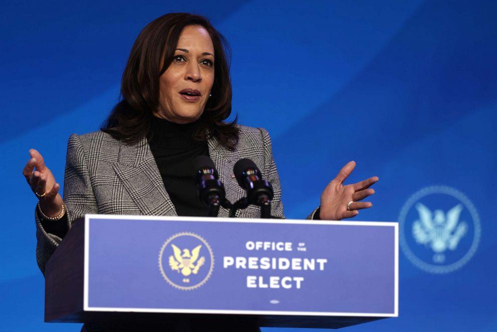 谁将主持特朗普弹劾案审判?美媒:或为当选副总统哈里斯