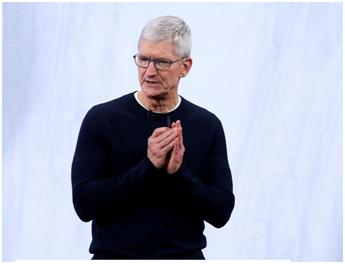蒂姆·库克资料图 图源:美国科技博客网站AppleInsider