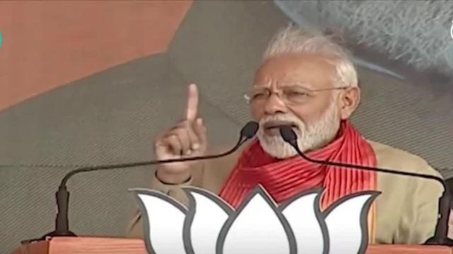 莫迪发誓不让河水流入巴基斯坦:都是印度农民的!