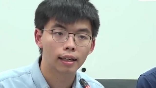 得知乱港分子在台湾被撵 黄之锋抛出混账话被台网友炮轰