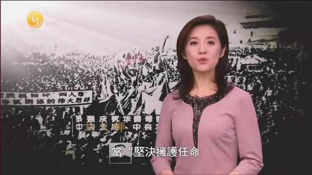 """十年动乱结束,""""四人帮""""受审历史画面"""