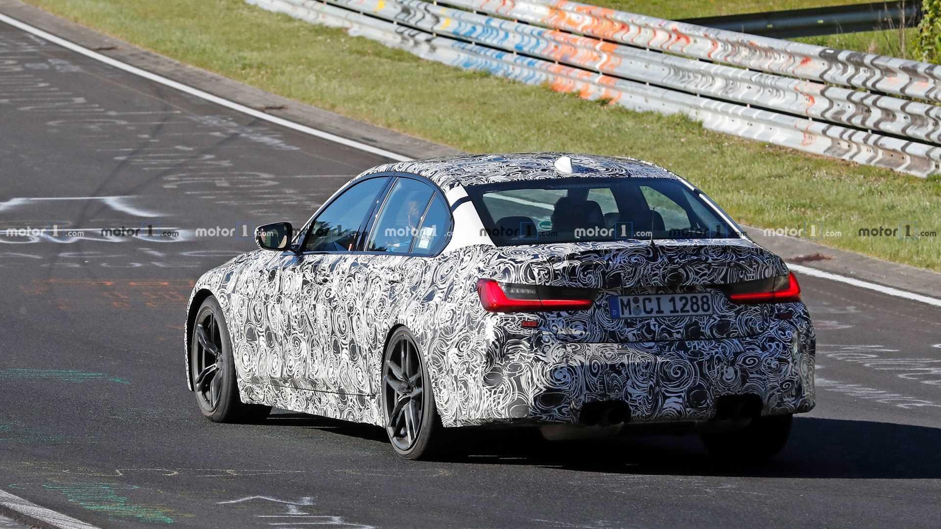 新款宝马M3设计效果图曝出 九月现身法兰克福
