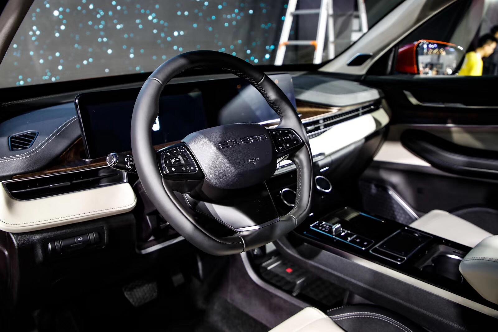 EXEED星途LX成都车展全球首发预售12.79万起