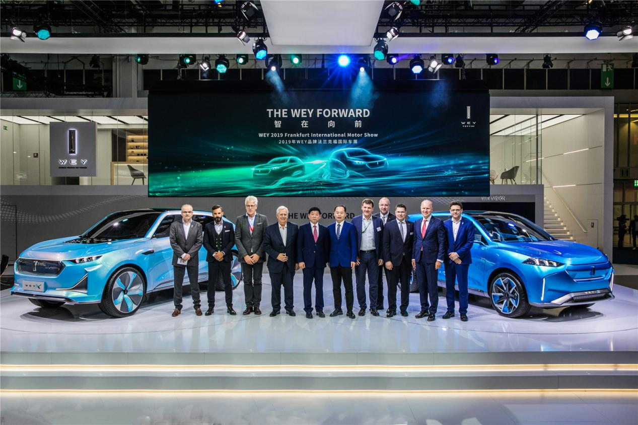 全球化战略进入加速度长城汽车携豪华阵容再次亮相法兰克福车展