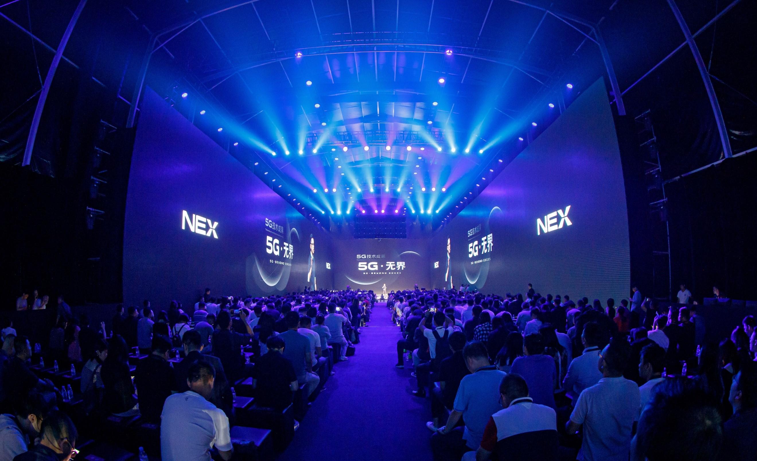 NEX 3 5G智慧旗舰上海正式发布
