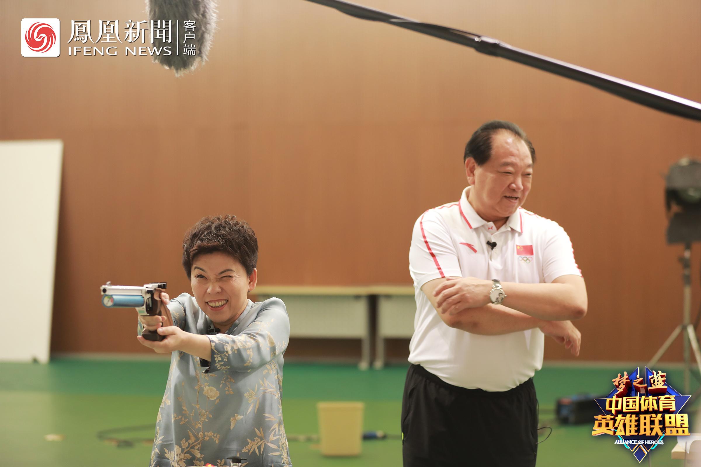 许海峰:内向性格适合射击