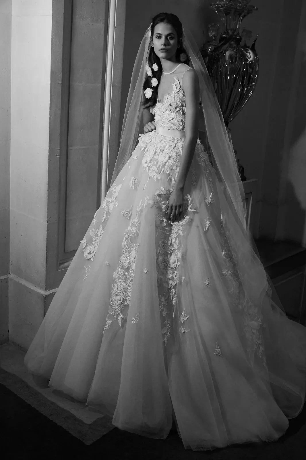 婚纱 奥斯卡 礼服