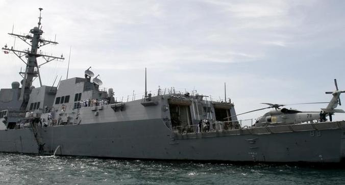 美驱逐舰非法闯入我西沙领海 南部战区:警告驱离