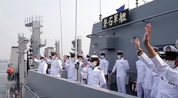 """台海军""""敦睦舰队""""染疫案调查结果出炉 感染源在台湾"""