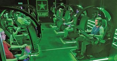 美海陆空军通过电子竞技征兵 陆战队认为游戏玩家不合格
