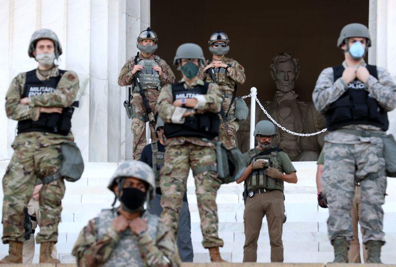 【提高alexa排名】_参与应对抗议活动后 华盛顿国民警卫队多人染上新冠病毒