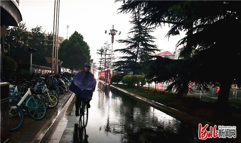 暴雨将来 河北省气象灾害防御指