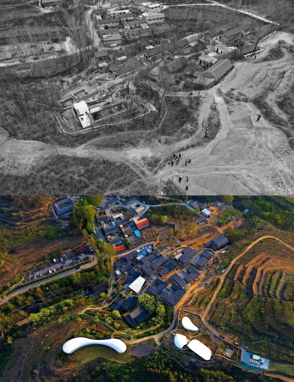 风景如画九女峰,打造让人向往的村居生活