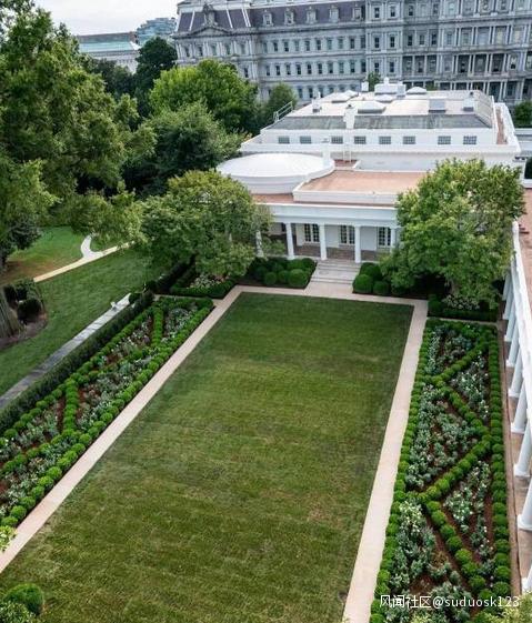 【又名石首站长网】_白宫后花园60年首次翻新完毕,网友花式批评