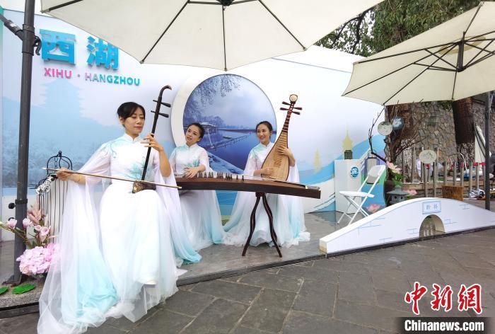 """杭州三大世界遗产""""齐现""""颐和园盛邀海内外游客作客"""