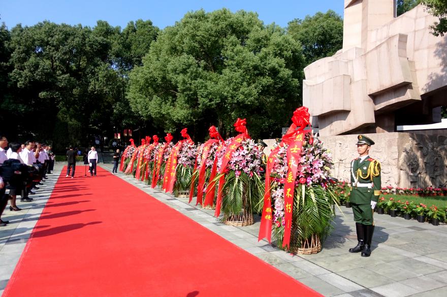 温州举行向革命烈士敬献花篮活动:缅怀英烈伟绩,凝聚精神力量