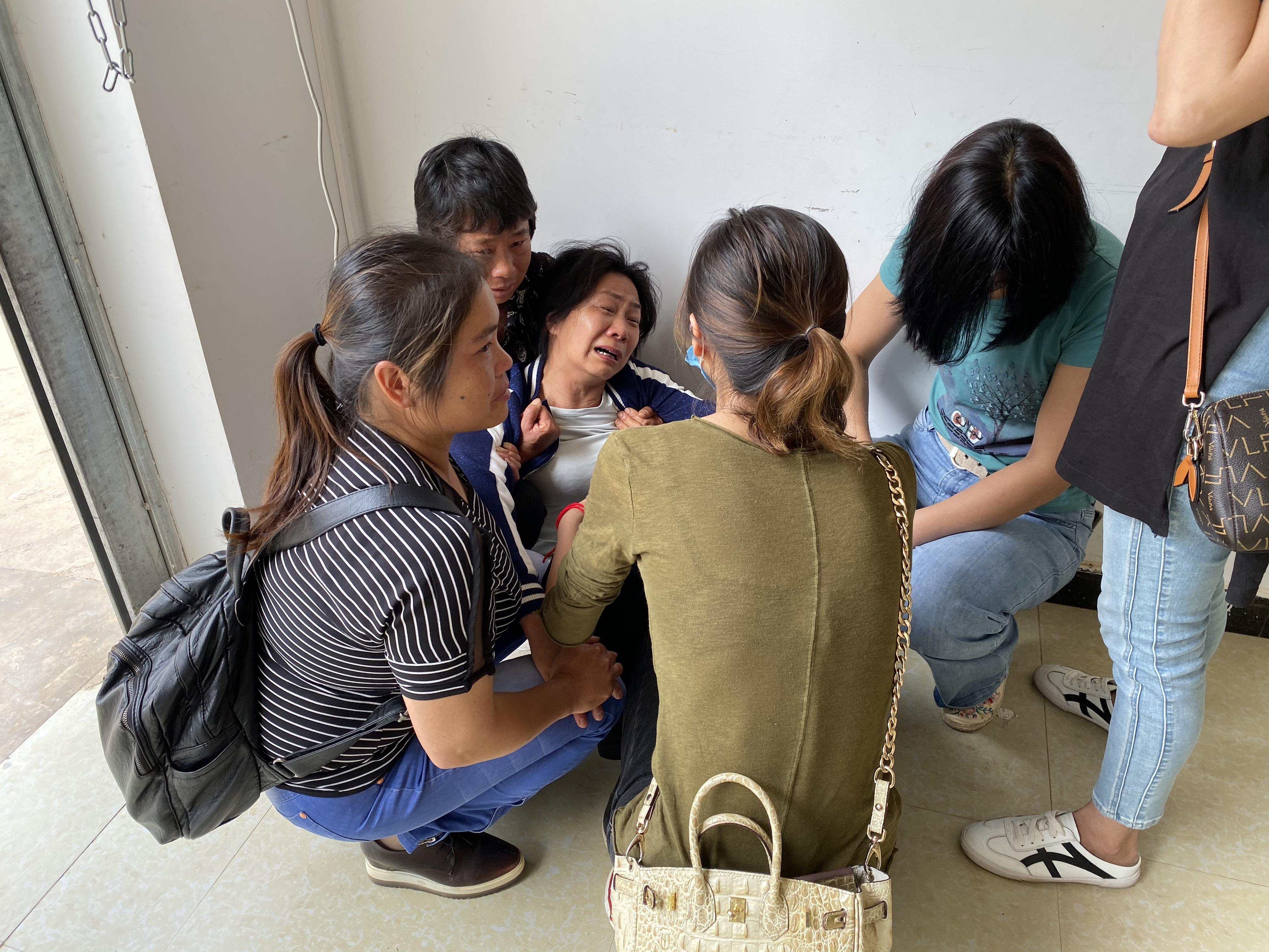 受害者张林家属 本文图来源:受访者供图