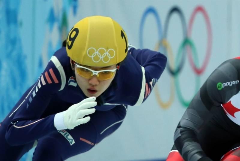 韩国短道速滑运动员沈锡希