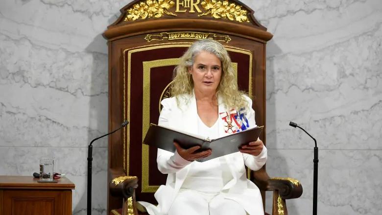 加拿大总督辞职,特鲁多尴尬