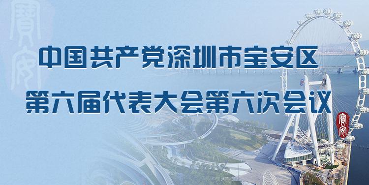 中国共产党深圳市宝安区第六届代表大会第六次会议