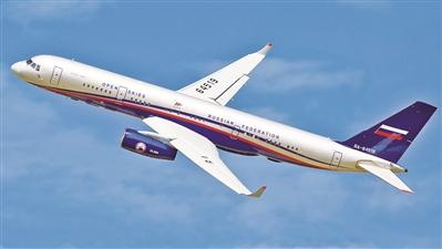俄图-214ON飞机依照《开放天空条约》执行观察飞行任务