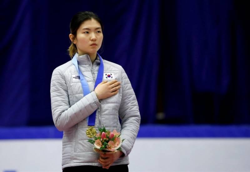 沈锡希是韩国最顶尖的女体育明星之一