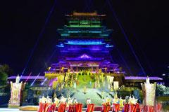 >南昌600名一线工作者共同欣赏大型实景演出《寻梦滕王阁》