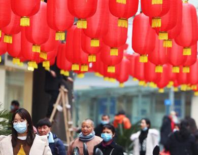 九江:灯笼高挂迎春节