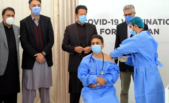 巴基斯坦啟動新冠疫苗接種 總理出席儀式感謝中國