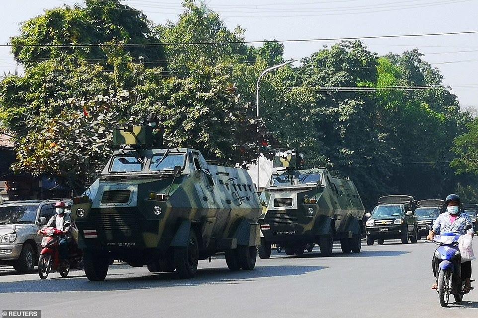 緬甸國防軍總司令政局驚變后首次發聲