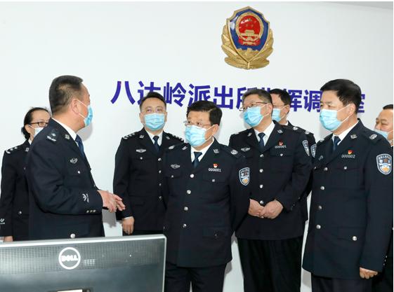 公安部部長提要求后,常務副部長以這一身份部署任務