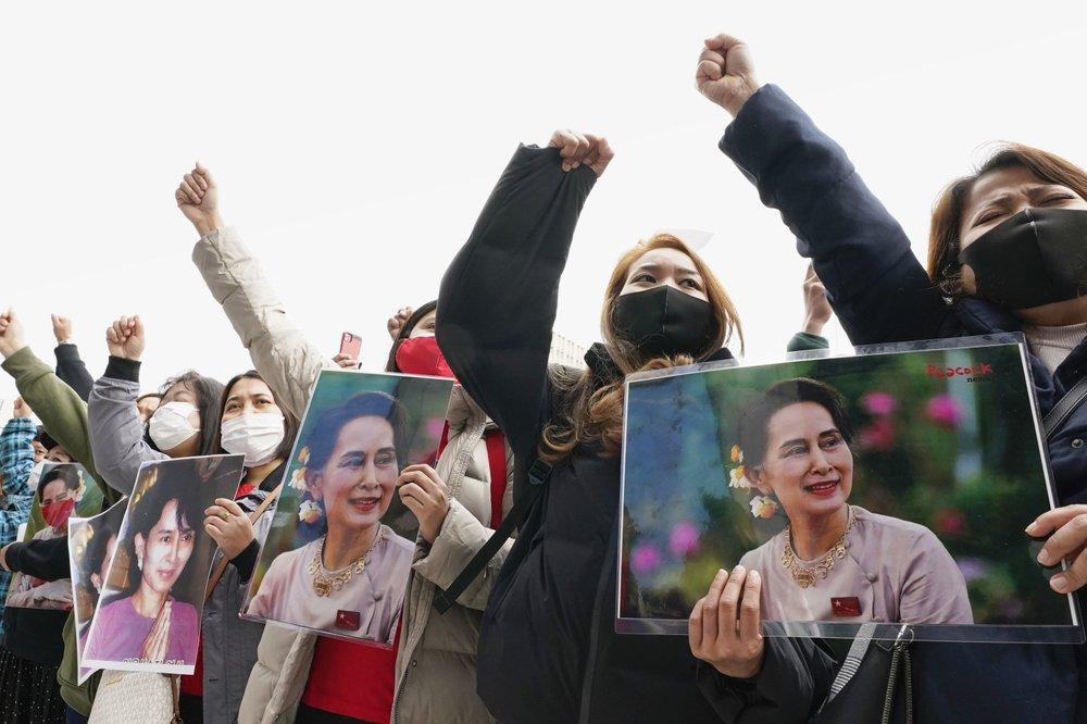 美媒:緬甸數百議員被關押在政府住宅 樓外重兵把守